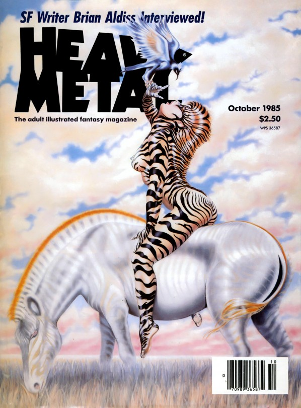 Heavy Metal Magazine Art Wallpaper